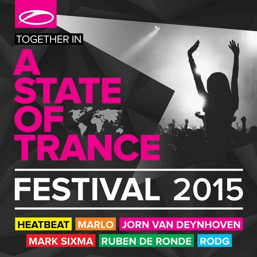 Various Artists - A State Of Trance Festival 2015 (front)