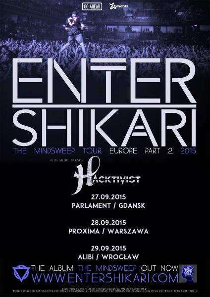 Enter Shikari Hacktivist