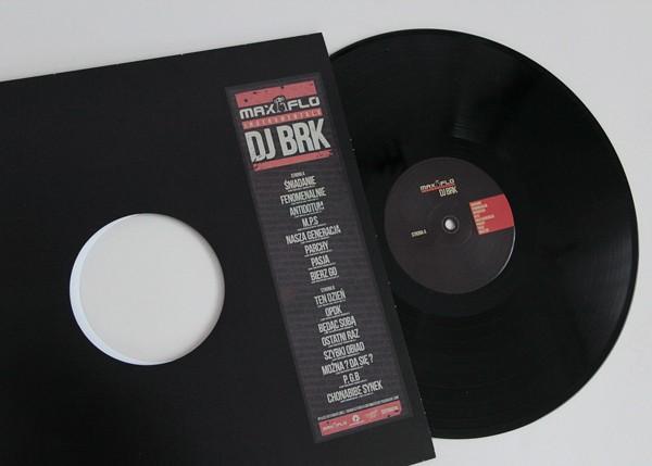 MaxFloInstrumentals - DJ BRK. Fot. Magdalena Salbert