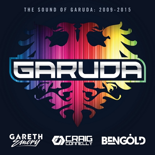 Various Artists - The Sound Of Garuda 2009-2015 (front)
