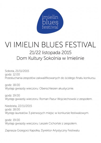 Imielin_Blues_plakat