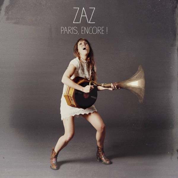 ZAZ - Paris, encore ! CD+DVD frontcover