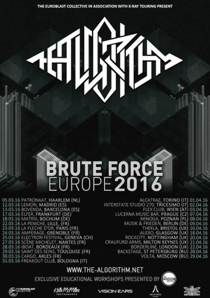 BruteForce-Tour-Europe