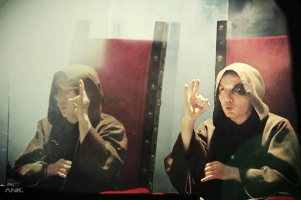 Rahim na planie klipu do utworu SERUM. Fot. AN KRASKO