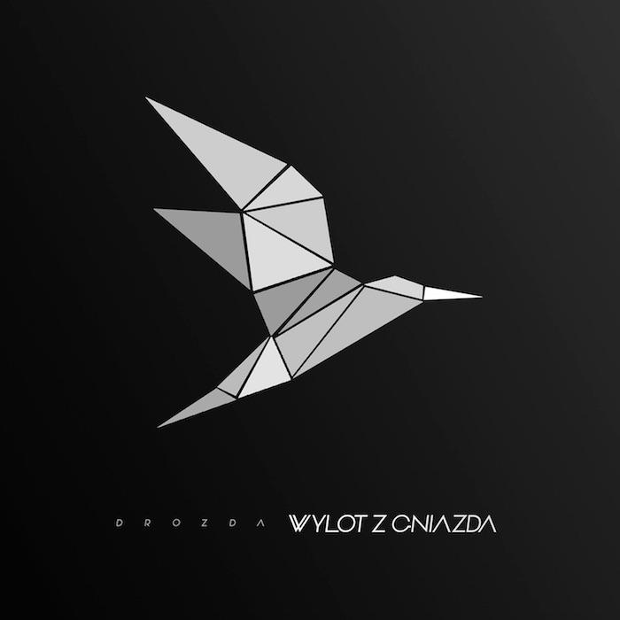 Drozda - WYLOT Z GNIAZDA - okładka mikstejpu. Autor - Dawid Borowski